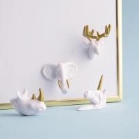동물 얼굴 메모자석 / Animal Head Magnets