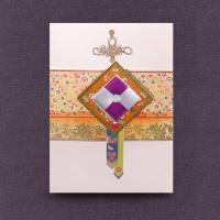 자수꽃카드 FT3005-4