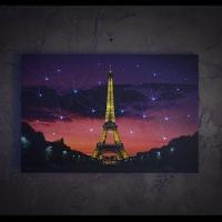 [LED 캔버스 조명액자] 에펠탑의 야경