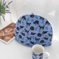 블랙 고양이(Cat nap) 덮개 티코지