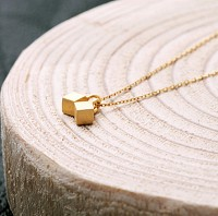 YL-Double cube necklace