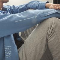 [라지크]AWKEN BASIC L.F SHIRTS (BLUE)
