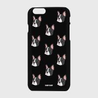 [어프어프] 하드케이스 Dot terrier-black