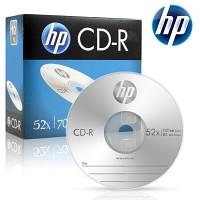 HP 공CD-R 700MB 52x 슬림 케이스 10장
