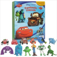 Disney Pixar Fantastic Friends : My Busy Books 픽사 프렌즈 피규어북
