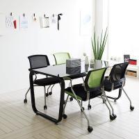 스틸뷰 1200 테이블+의자세트 책상