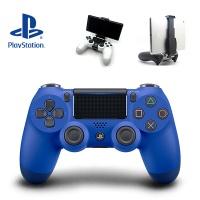 PS4 SONY 듀얼쇼크4 블루 (스마트폰 마운트 포함)