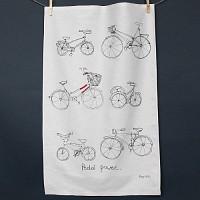 핸드 프린트 티타올-자전거