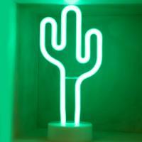 LED 네온전구 조명등 (선인장)