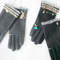 suaa wool gloves - smart touch