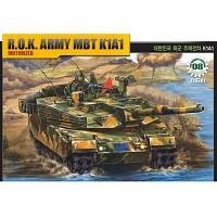 (아카데미과학-ACT13301) 1/48 대한민국 육군 주력전차 K1A1 [모터] 탱크 프라모델