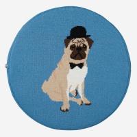 (Confiture) Dapper Seat Cushion - Pug