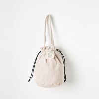 Strap Bucket Bag (Beige) - P005B_BE