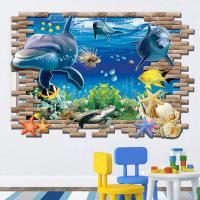 바다동물 3D 스티커