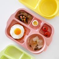 튼튼 식판+볼접시 세트 유아 어린이 식판 나눔접시