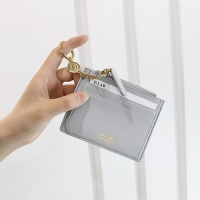 D.LAB Coin name card wallet  - Gray
