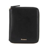 Fennec Multi Zipper Wallet 001 Black