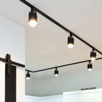 뉴 원통 스포트 3등 레일형 세트 (LED겸용/카페조명/포인트조명)