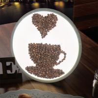 nd163-LED액자25R_원두로그린커피잔과하트_LED사인
