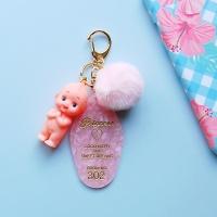 토이 키링-핑크 리조트키(기도 베이비)