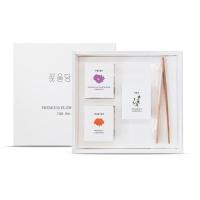 부모님 선물 미니꽃차3종 선물세트+쇼핑백