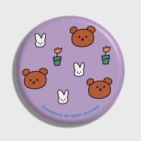 Bear and rabbit-purple(거울)