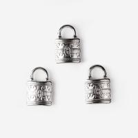 [인디고샵] 실버 자물쇠 펜던트 (5개)