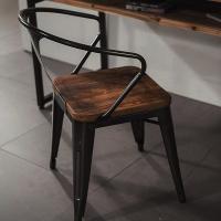 [에인하우스] 알레그로G 빈티지 철재 의자