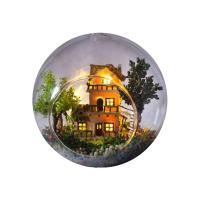 [adico]DIY 미니어처 볼 - 노르웨이의 트리하우스