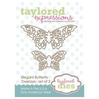다이 Elegant Butterfly Overlays TE157