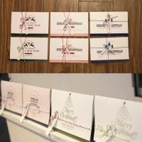 아이씨엘 크리스마스 카드-holiday 20종 세트