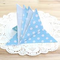 도트 파티냅킨-블루(20매)