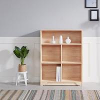 [노하우] 케이 소나무원목 3단 800 오픈형 책장