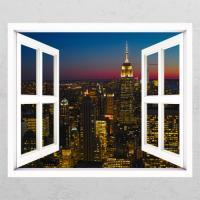 ia437-뉴욕의풍경_창문그림액자