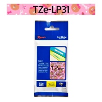 브라더정품 라벨테이프 TZe-LP31(12mm x 5M) (캐릭터 라인핑크)