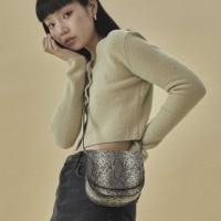 [펀프롬펀]Kate mini bag_snake (grey)