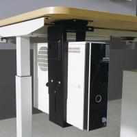 높이조절 책상용 PC본체 홀더 받침대 PMCPB