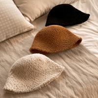 라운드 양털 뽀글이 겨울 벙거지 버킷햇 3color