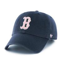 47브랜드 MLB모자 보스톤레드삭스 네이비핑크(한정모델)