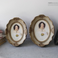 [2HOT] 베네치아 타원 액자 4R