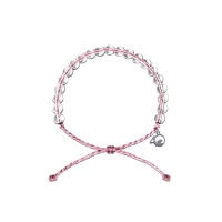 환경 유방암 기부팔찌 재활용 리사이클 밴드 핑크