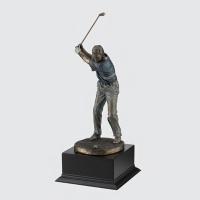 [무료배송] 골프 트로피 스윙모션 HB-1308 싱글패 골프패