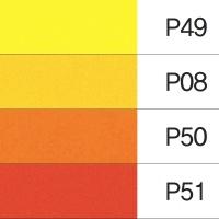 두성종이 칼라복사지 OA 점보 J02(4색혼합) 100매 A4