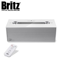 브리츠 가정용 노래방 스피커 BR-N2K (마이크 포함 / 에코볼륨조절 / 마이크 & 헤드폰 입력단자 / MP3 & 스마트폰폰 등 외부연결 AUX 단자 / 오디오 출력단자 / 리모컨)