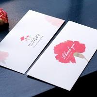 카네이션 용돈봉투 세트 thank you envelope set
