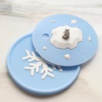 컵커버&컵받침 북극곰