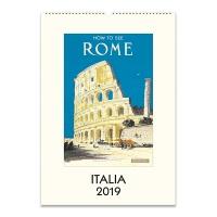 2019 캘린더 카발리니 Italia