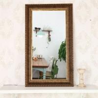 고급 소품 미니거울-J62601(거울 30x60cm)
