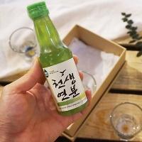 아로마오일 소주비누 1ea+압화소주잔 4개세트(박스포함)