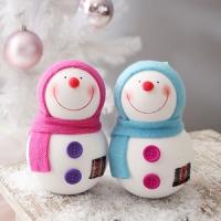미니 눈사람 2P세트 (12cm파스텔)